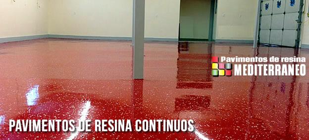 pavimento de resina continuos