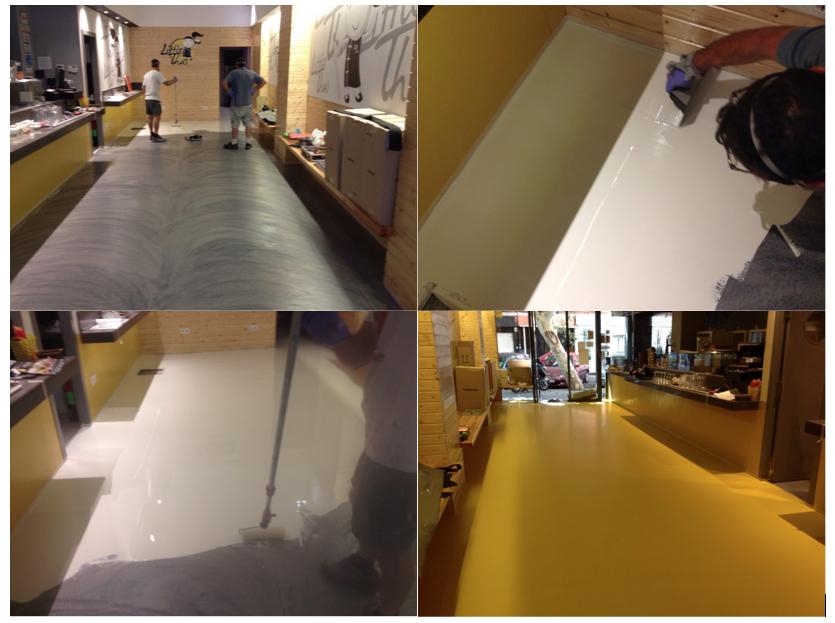 Suelos para restaurantes pavimentos de resina - Suelos de resina epoxi ...